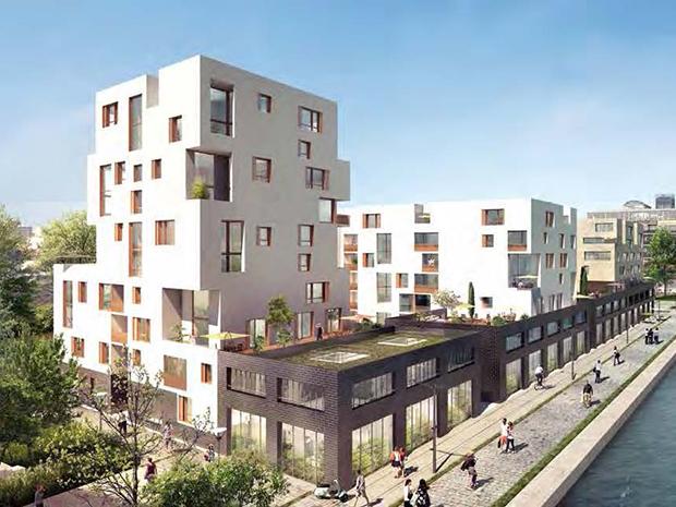 Appartements Duflot à Pantin